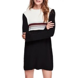 Free People | NWT Colorblock Sweater Dress